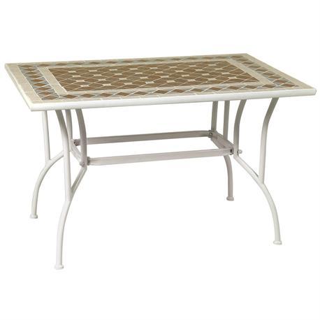 Rectangular table mosaic 80X120 cm
