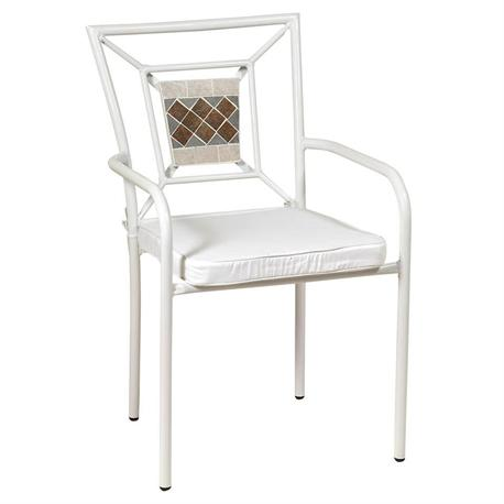 Stackable chair mosaic