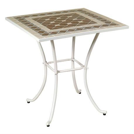 Τραπέζι τετράγωνο ψηφίδα 70Χ70 εκ
