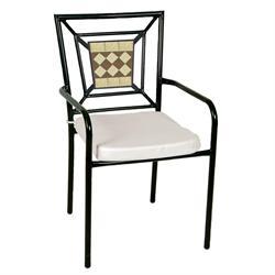 Καρέκλα στοιβαζόμενη ψηφίδα
