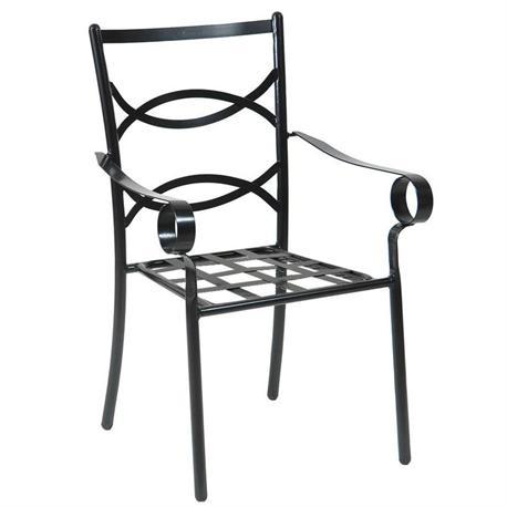 Stackable armchair