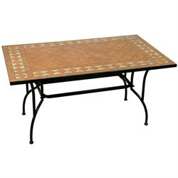 Rectangular table mosaic 80X120 cm