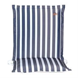 Cushion blue stripe low back 96 cm
