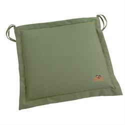 Μαξιλάρι πράσινο,κάθισμα 40Χ40 εκ.