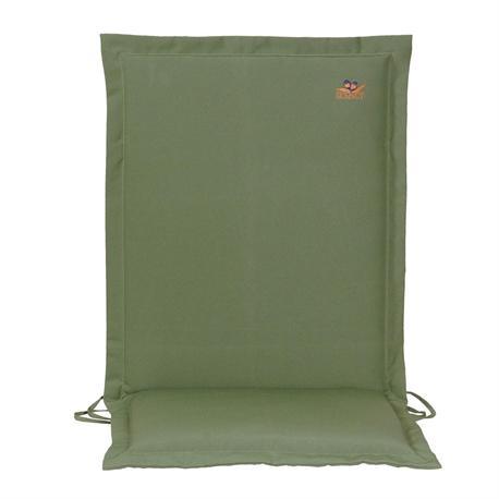Cushion green low back 93 cm