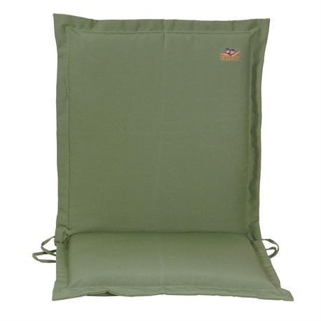 Cushion green low back 96 cm
