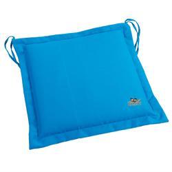 Μαξιλάρι γαλάζιο, κάθισμα 40Χ40 εκ.
