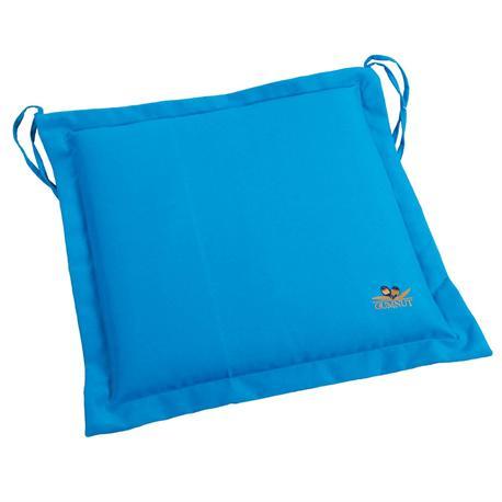 Cushion light blue seat 40X40 cm