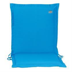 Cushion light blue low back 96 cm