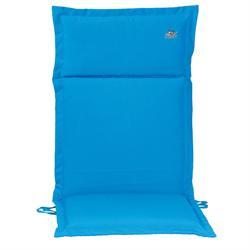 Μαξιλάρι γαλάζιο, ψηλή πλάτη 114 εκ.