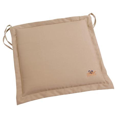 Cushion beige seat 40X40 cm
