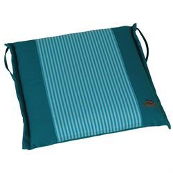 Μαξιλάρι με λεπτή ρίγα μπλέ,κάθισμα 40Χ43 εκ.