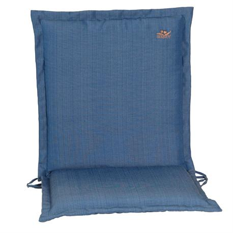 Cushion blue low back 93 cm