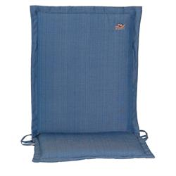 Cushion blue low back 96 cm