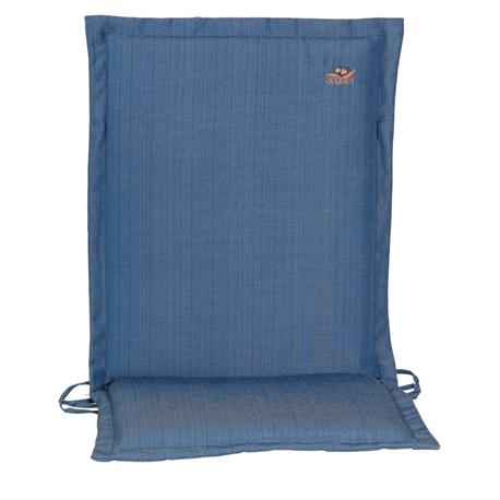 Cushion blue low back 96 cm