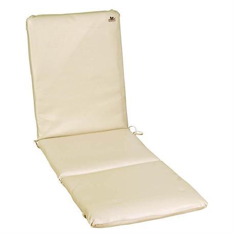 Latherette ecru cushion for lounger 196X60 cm