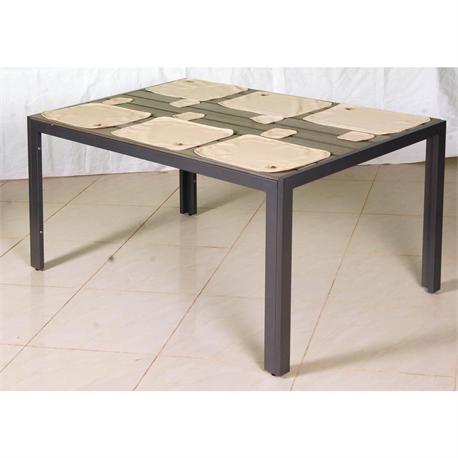 Table set 13 pcs.ecru