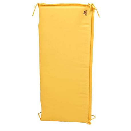 Cushion yellow for swing 138 cm