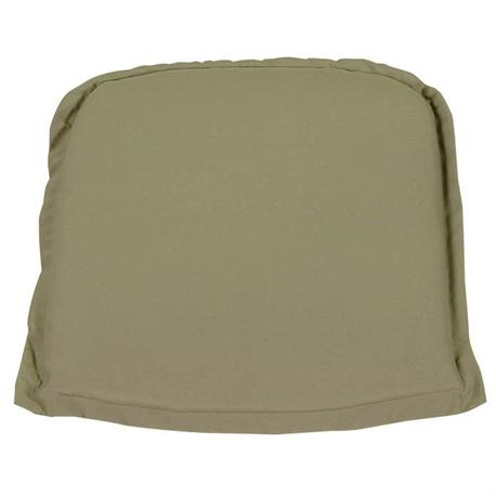 Cushion olive seat 50X50 cm