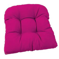 Thick fuschia cushion seat 47X47 cm