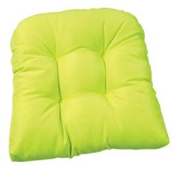 Μαξιλάρι αν πράσσινο,φουσκωτό κάθισμα 47Χ47 εκ