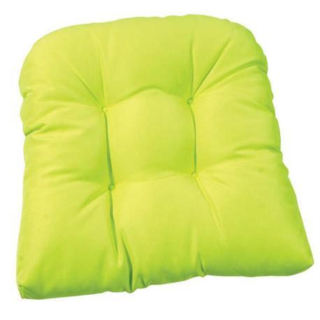 Thick lime cushion seat 47X47 cm