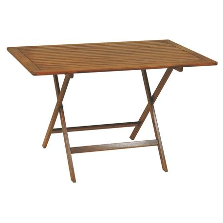 Rectangular folding table 70Χ120 cm