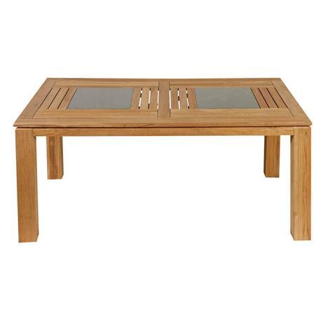 Rectangular table Teak 95Χ165 cm