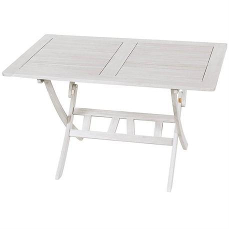 Τραπέζι παραλ/μο πτυσσόμενο Λευκό 70x120