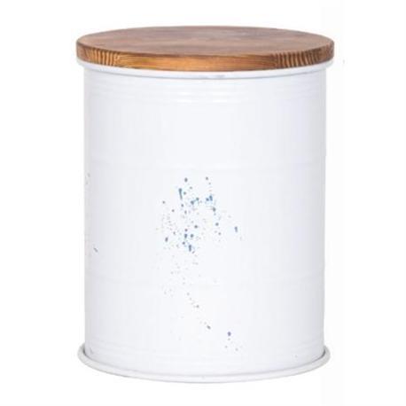 Stool storage white