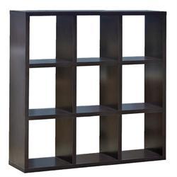 Bookcase wenge 117X117 cm