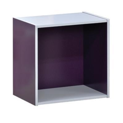 Cube purple 40X29 cm