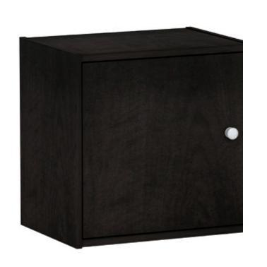 Cube with door wenge 40X29 cm