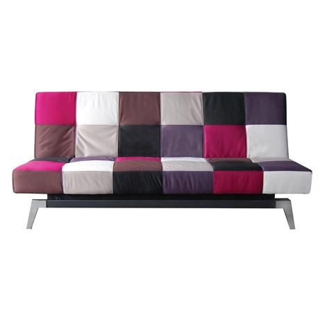 Sofa-bed fabric patchwork