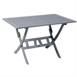 Τραπέζι παραλ/μο πτυσσόμενο Γκρι 70x120 εκ