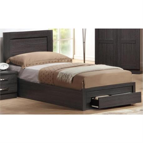 Bed with drawer 109X207 cm