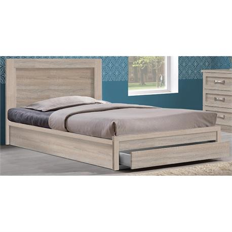 Bed with drawer 99X207 cm