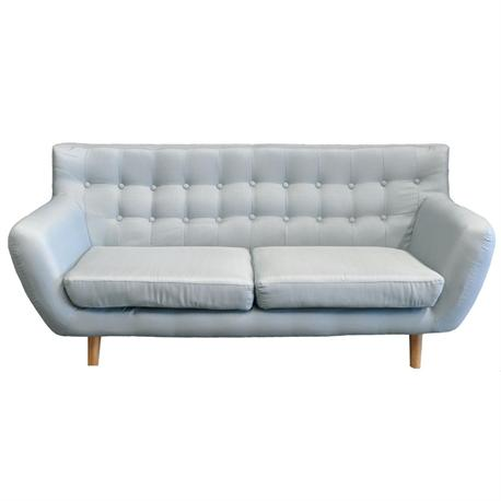 Sofa 3 seats fabric grey