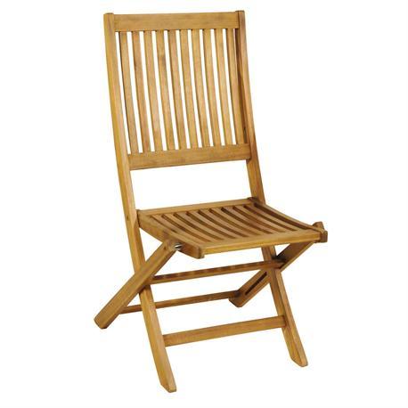 Folding chair Acacia Wood