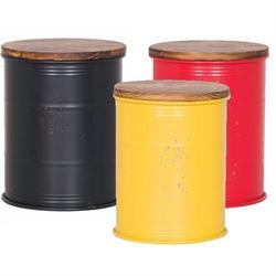 Stool storage yellow
