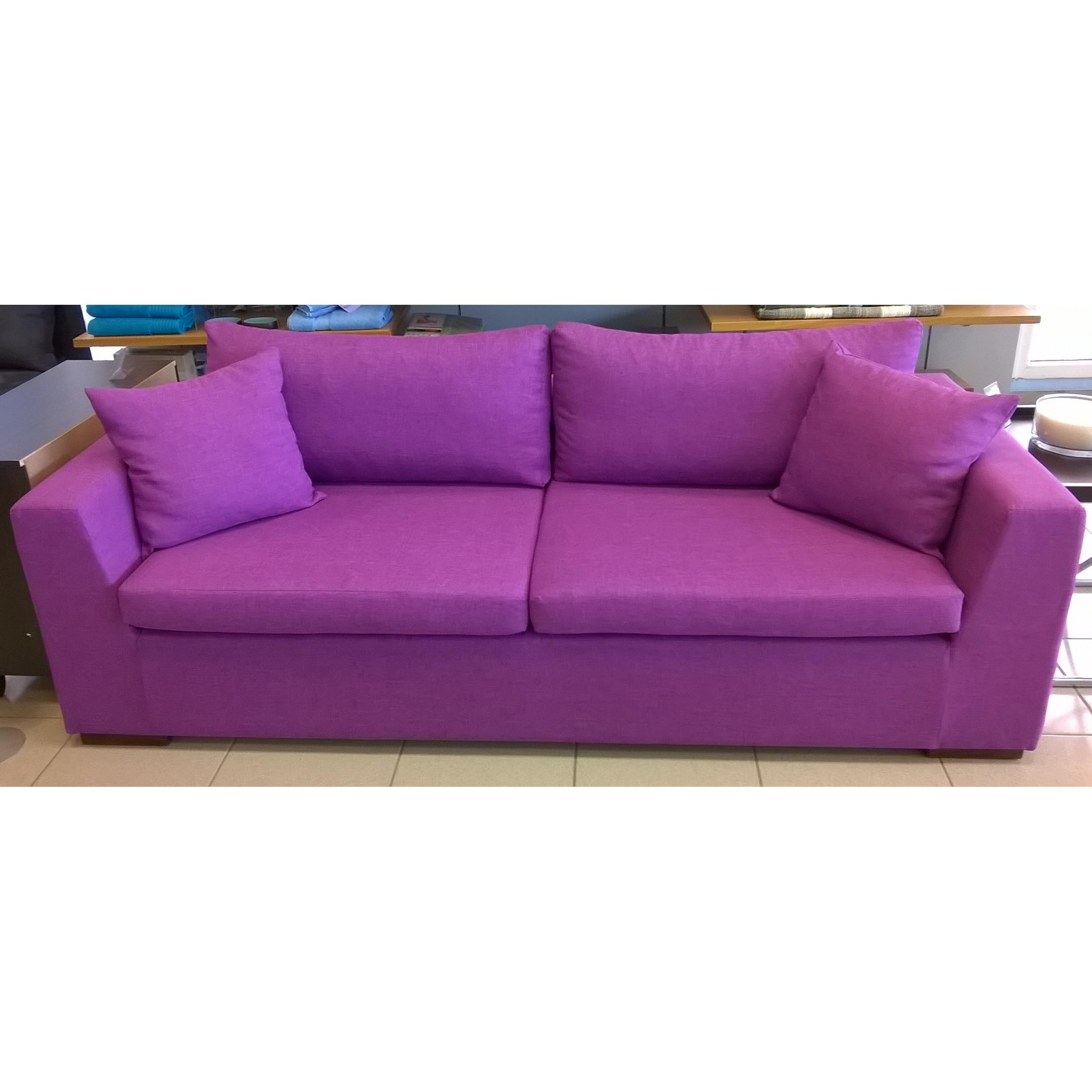 lilac sofa next home the honoroak velvet sofa viola sofa