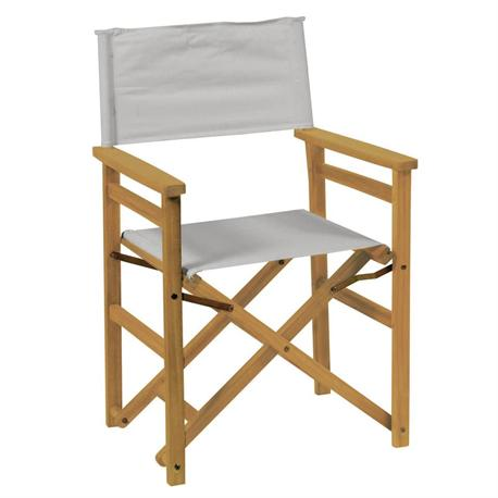 Directors folding armchair Acacia Wood