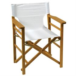 Directors folding armchair Acacia Wood