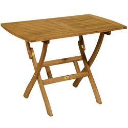 Τραπέζι παραλ/μο πτυσσόμενο Ακακία 60x100 εκ