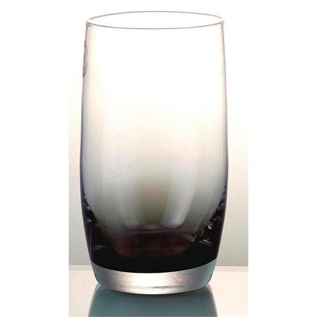 Handmade water glass Smoke Half