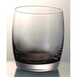 Handmade whiskey glass Smoke Half