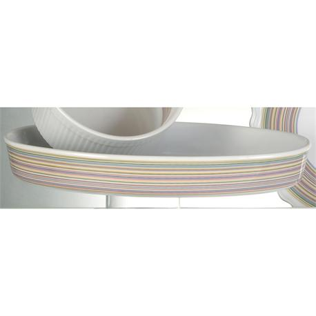 Baker oval 41 cm Lines