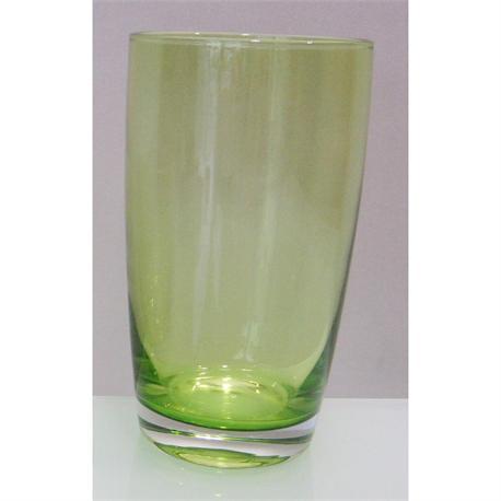 Water glass green