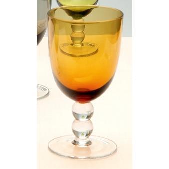 Ποτήρια νερού με μπίλια Amber
