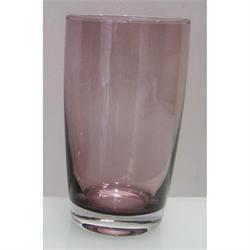 Water glass Irid purpple